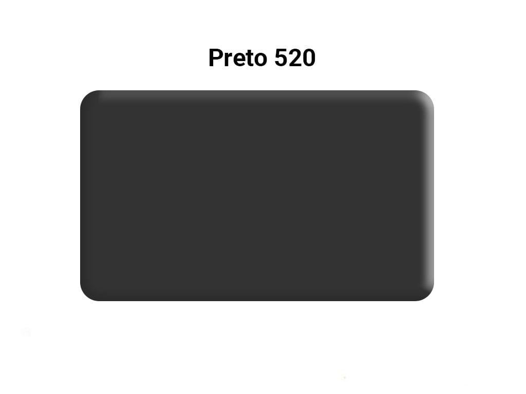 MASSA PARA BISCUIT ACRILEX 90G 520 PRETO