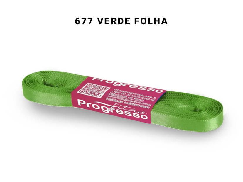 FITA CETIM PHFIT 01 10M 0677 VERDE FOLHA