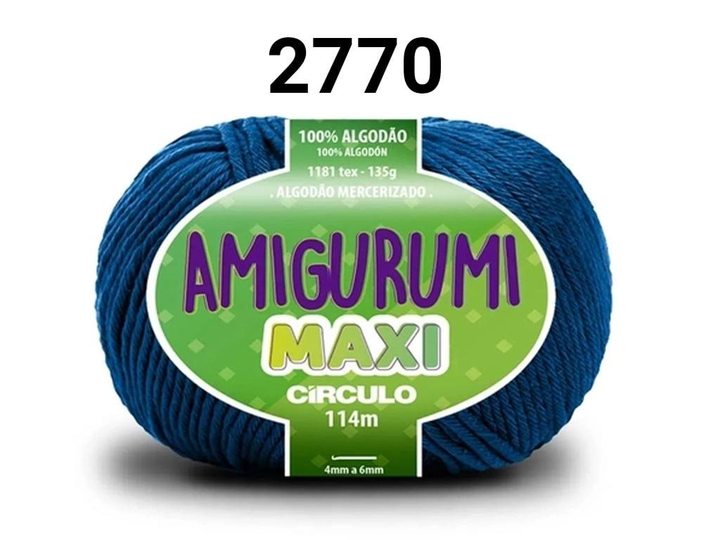 FIO AMIGURUMI MAXI 135G 2770 AZUL CLASSICO