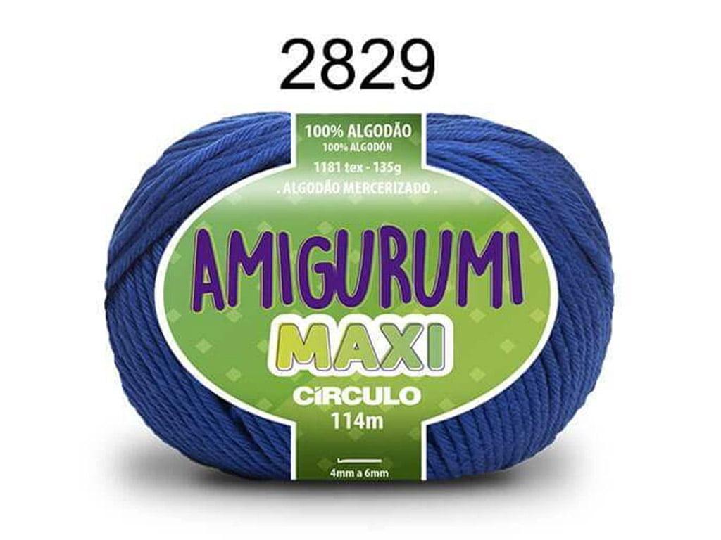 FIO AMIGURUMI MAXI 135G 2829 AZUL BIC