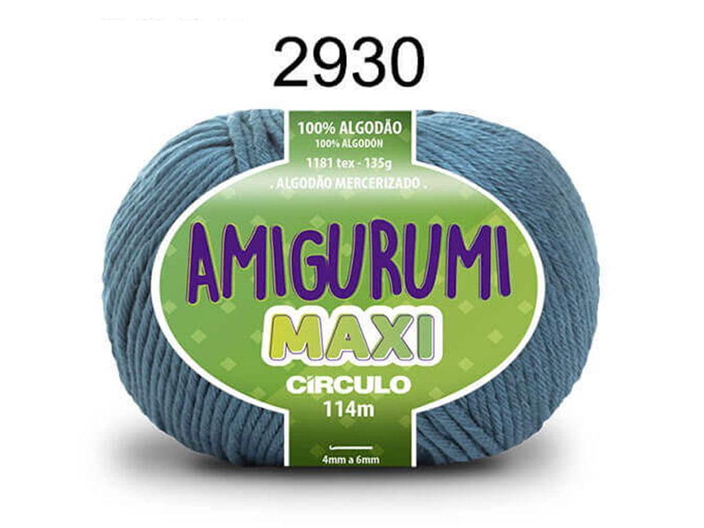 FIO AMIGURUMI MAXI 135G 2930 NETUNO