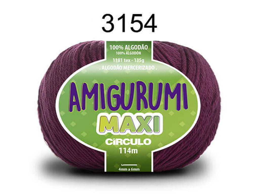 FIO AMIGURUMI MAXI 135G 3154