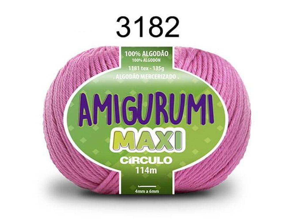 FIO AMIGURUMI MAXI 135G 3182