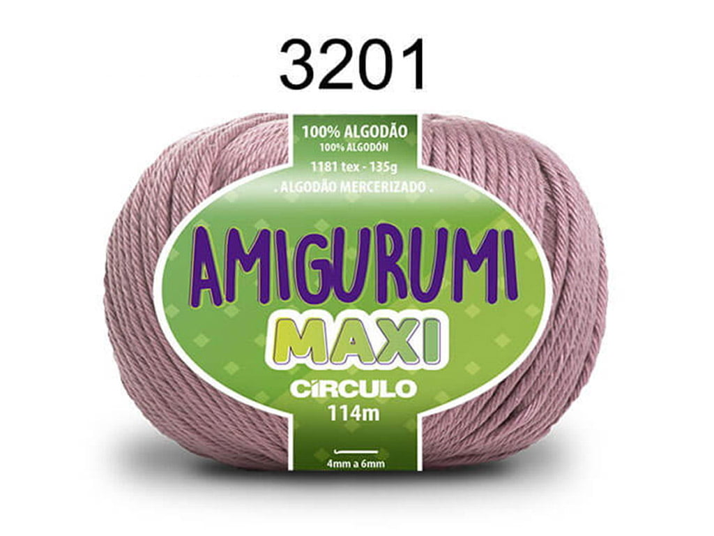 FIO AMIGURUMI MAXI 135G 3201