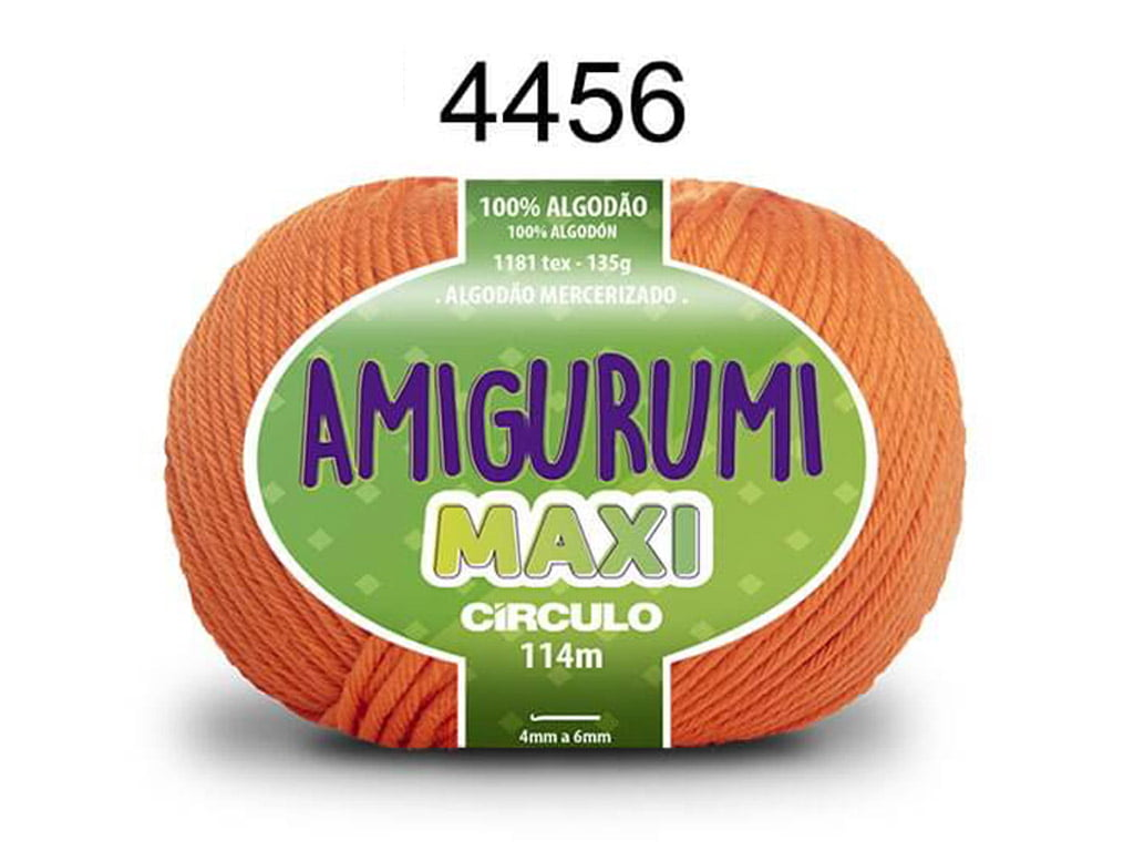 FIO AMIGURUMI MAXI 135G 4456