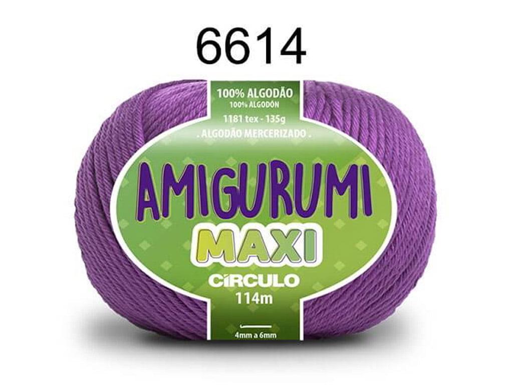 FIO AMIGURUMI MAXI 135G 6614 ALFAZEMA