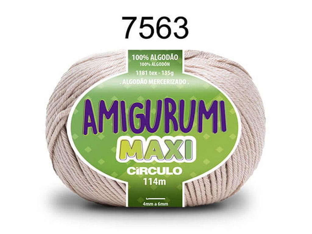 FIO AMIGURUMI MAXI 135G 7563