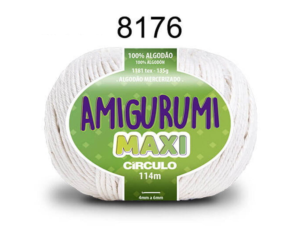 FIO AMIGURUMI MAXI 135G 8176