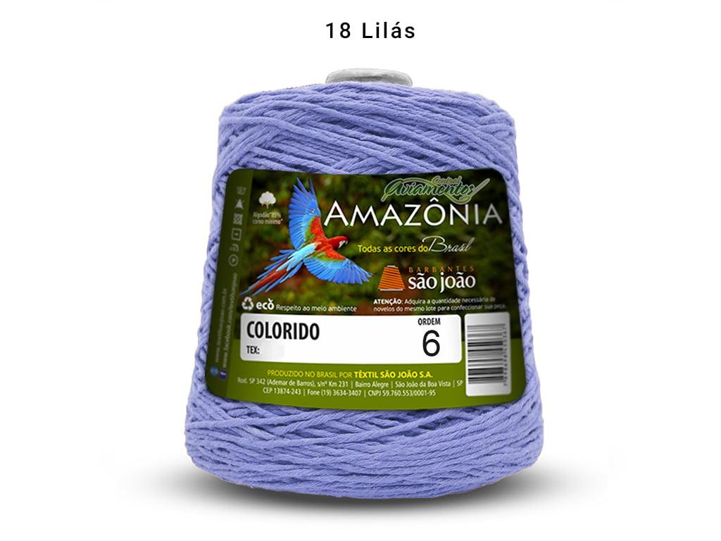 BARBANTE AMAZONIA 6 614M 18 LILAS