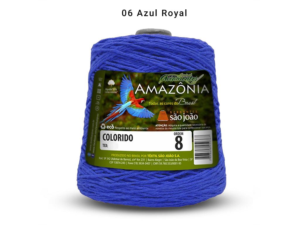 BARBANTE AMAZONIA 8 461M 06 AZUL ROYAL