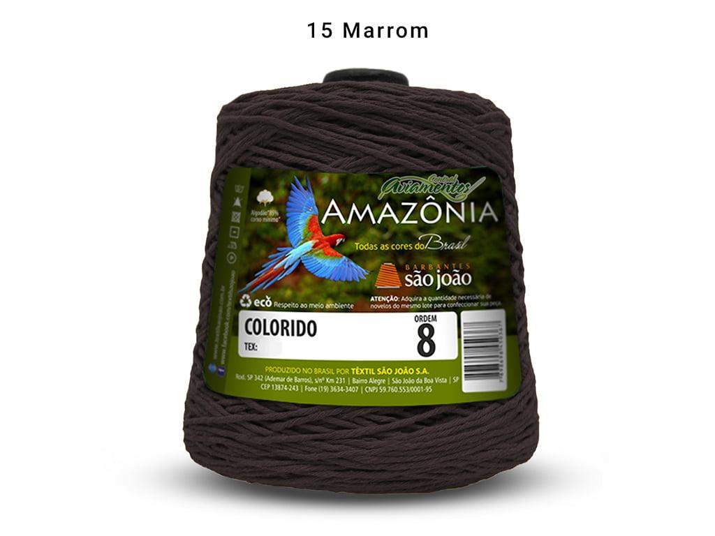 BARBANTE AMAZONIA 8 461M 15 MARROM