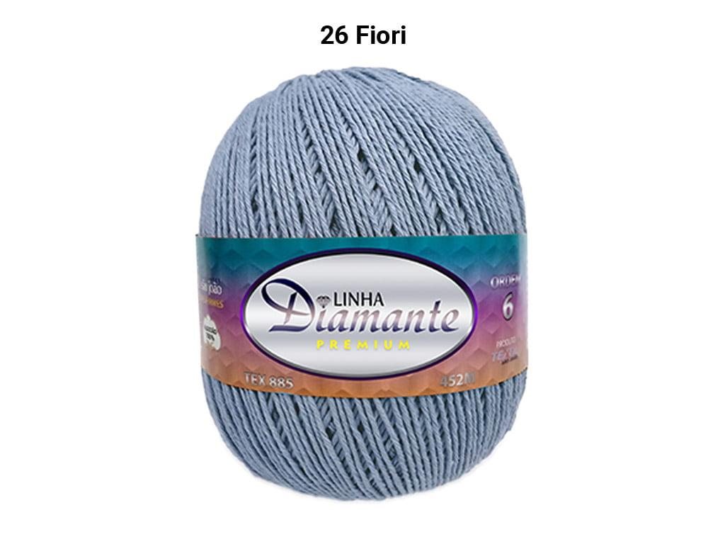 BARBANTE DIAMANTE PREMIUM 4/6 DP0026 FIORI