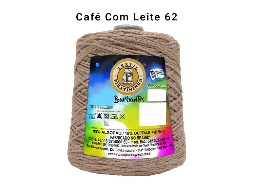 BARBANTE PIRATININGA 4/6 600G CAFE/LEITE,