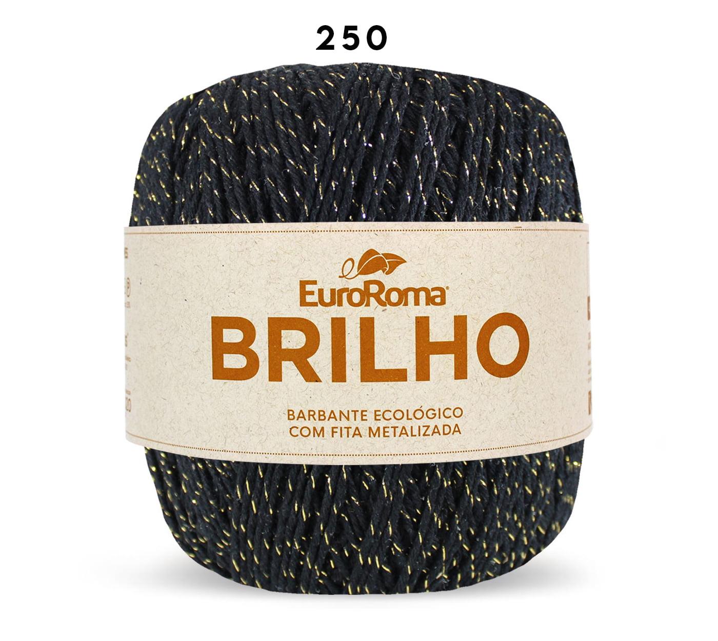 EUROROMA BRILHO OURO 6 400G PRETO