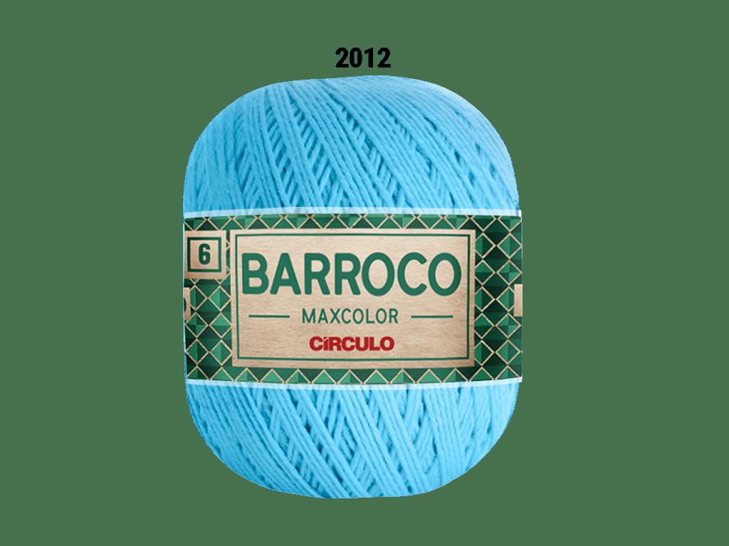 BARROCO MAXCOLOR 6 400G 2012 AZUL CANDY