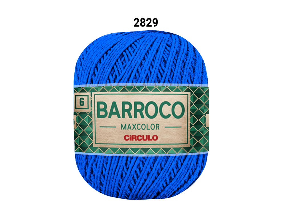 BARROCO MAXCOLOR 6 400G 2829 AZUL BIC