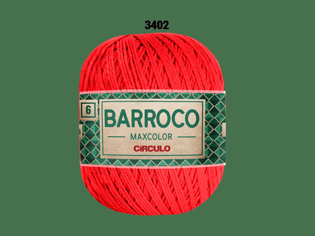 BARROCO MAXCOLOR 6 400G 3402 VERMELHO CIRCULO