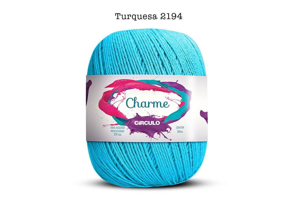 LINHA CHARME 150G 2194 TURQUESA