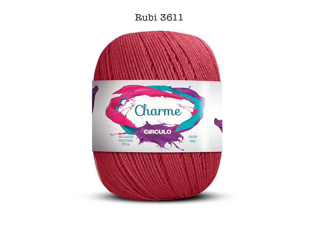 LINHA CHARME 150G 3611 RUBI
