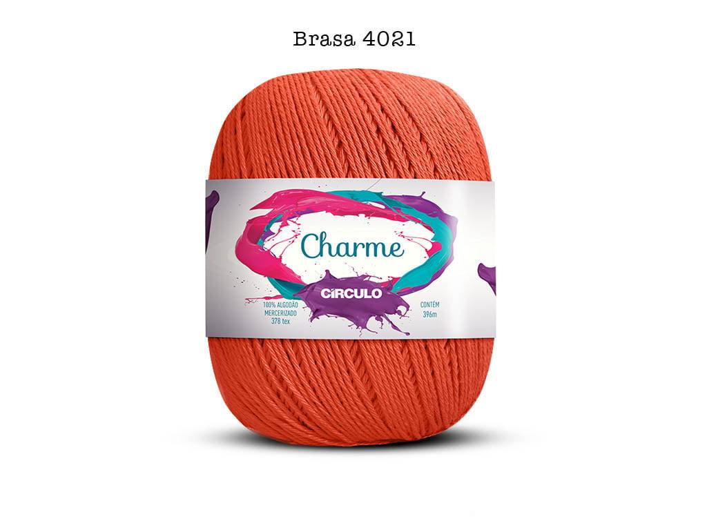 LINHA CHARME 150G 4021 BRASA