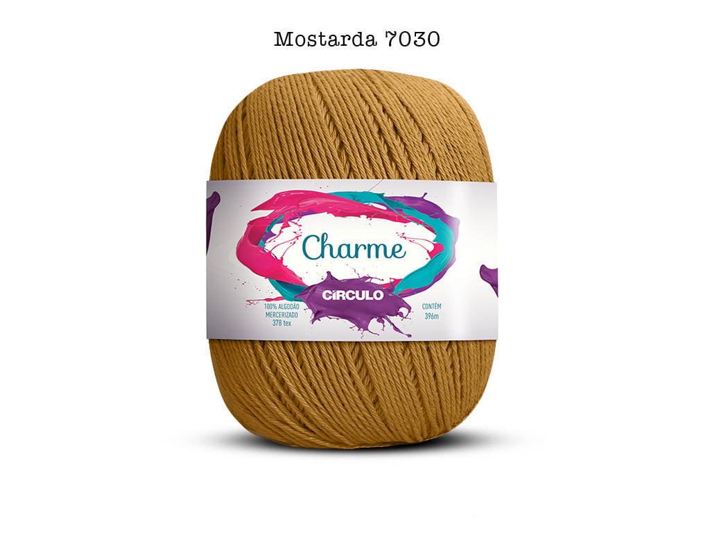 LINHA CHARME 150G 7030 MOSTARDA