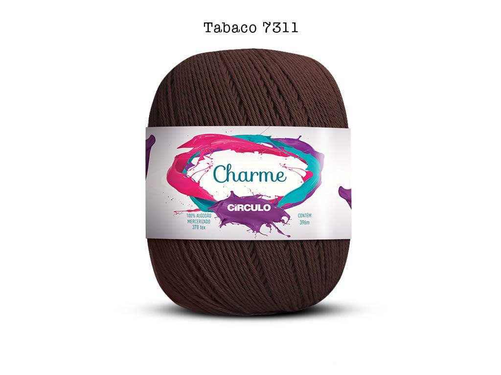 LINHA CHARME 150G 7311 TABACO