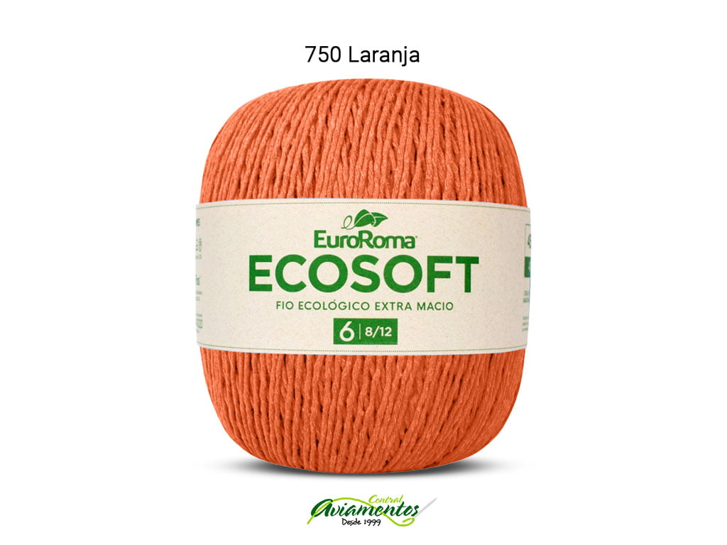 EUROROMA ECOSOFT 8/12 422G 452M LARANJA