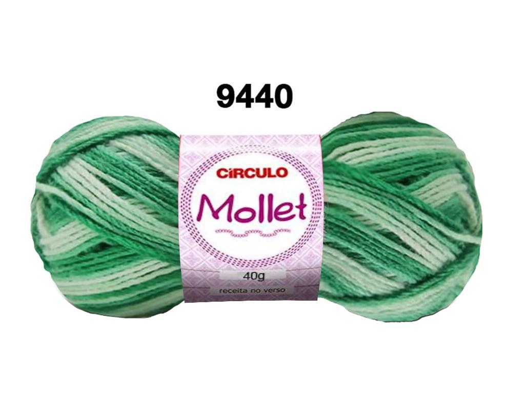 MOLLET 40G MULTICOLOR 9440