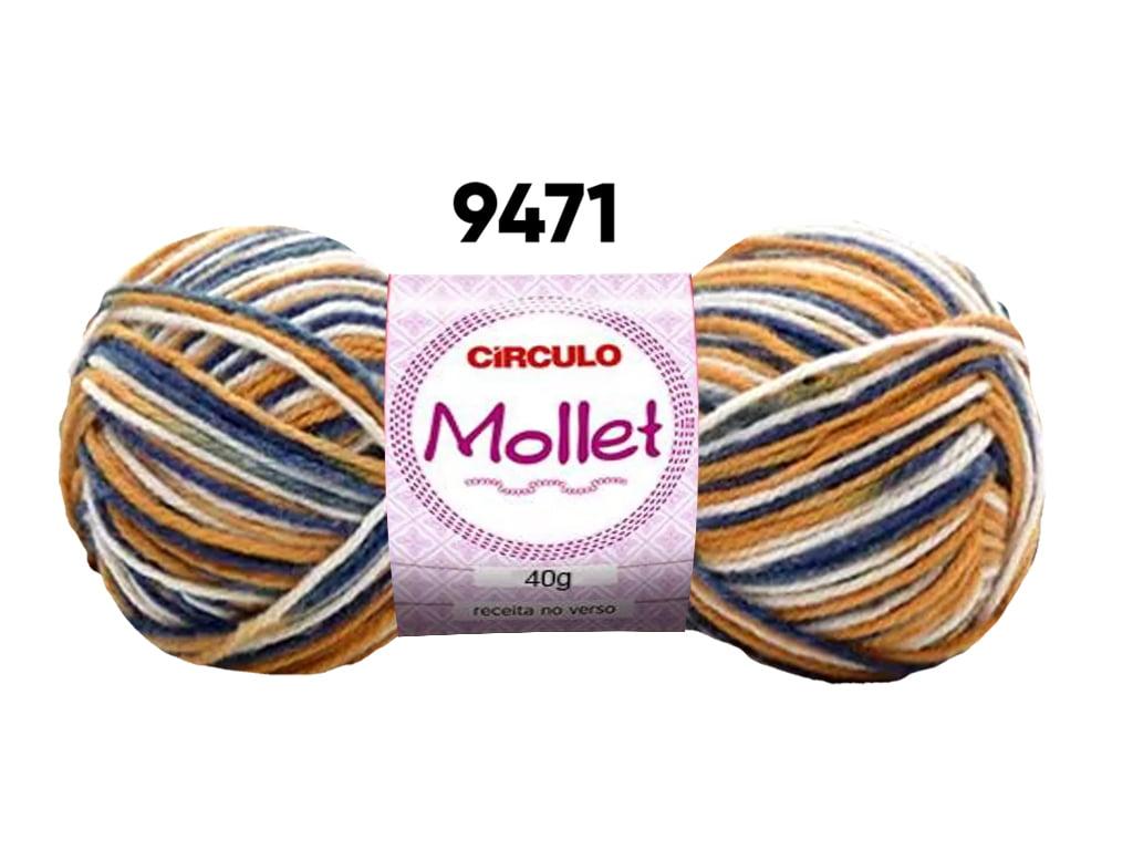 MOLLET 40G MULTICOLOR 9471