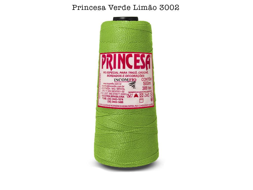 LINHA PRINCESA 3002 VERDE LIMAO