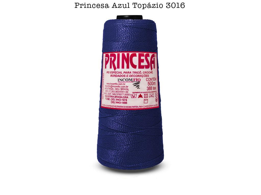 LINHA PRINCESA 3016 AZUL TOPAZIO
