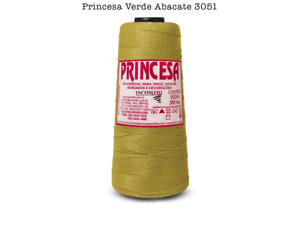 LINHA PRINCESA 3051 VERDE ABACATE