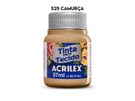 TINTA TECIDO ACRILEX 37ML FOSCA 525 CAMURCA