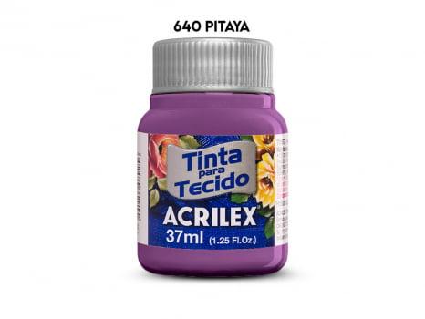 TINTA TECIDO ACRILEX 37ML FOSCA 640 PITAYA