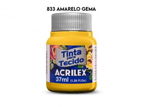 TINTA TECIDO ACRILEX 37ML FOSCA 833
