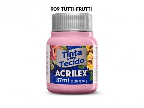 TINTA TECIDO ACRILEX 37ML FOSCA 909