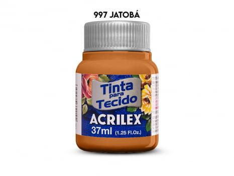 TINTA TECIDO ACRILEX 37ML FOSCA 997 JATOBA