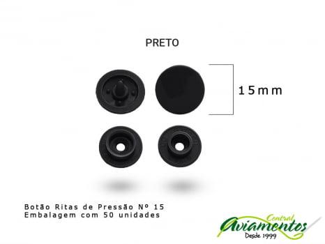 BOTAO DE PRESSAO RITAS N12 200UN OLIVA 40