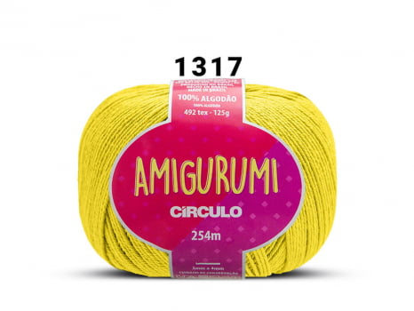 FIO AMIGURUMI 125G 1317 SOLAR