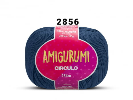 FIO AMIGURUMI 125G 2856 ANIL PROFUNDO