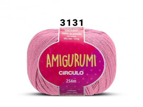 FIO AMIGURUMI 125G 3131 CHICLETE