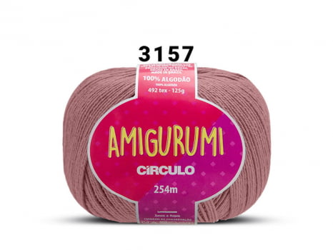 FIO AMIGURUMI 125G 3157 ROSEIRA