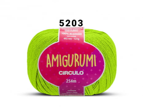 FIO AMIGURUMI 125G 5203 GREENERY