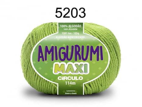 FIO AMIGURUMI MAXI 135G 5203 LIMONADA