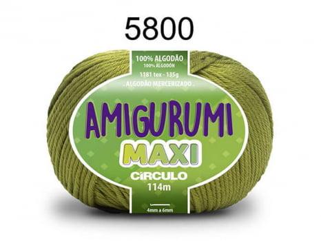 FIO AMIGURUMI MAXI 135G 5800 PISTACHE