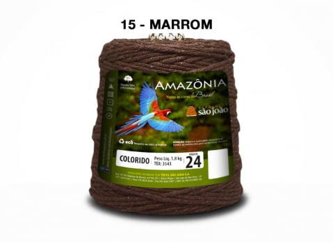 BARBANTE AMAZONIA 4/24 1000G MARROM