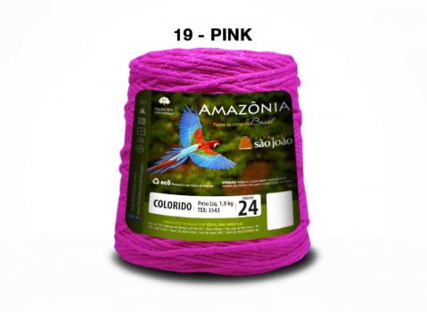 BARBANTE AMAZONIA 4/24 1000G PINK