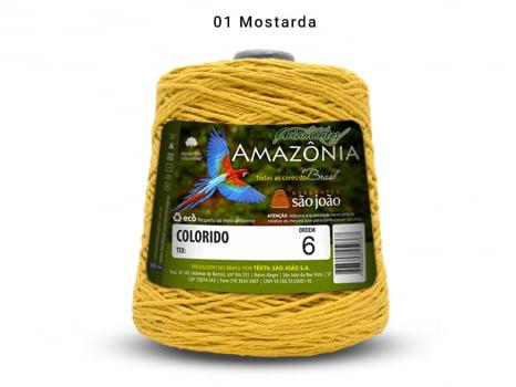 BARBANTE AMAZONIA 6 614M 01 MOSTARDA