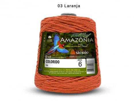 BARBANTE AMAZONIA 6 614M 03 LARANJA