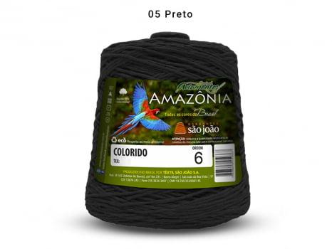 BARBANTE AMAZONIA 6 614M 05 PRETO